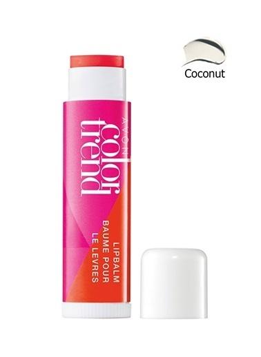Avon Acon Color Trend Lush Dudak Balmı Coconut Renksiz